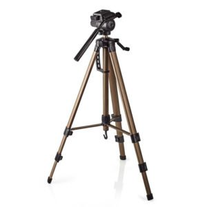NEDIS TPOD2300BZ Tripod Pan & Tilt Max 3.5 kg 161 cm  Black/Silver | ΕΙΚΟΝΑ / ΗΧΟΣ | elabstore.gr