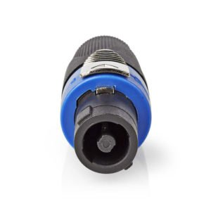 NEDIS COTP16900BK Speaker Connector Speaker 4-pin Female Black | ΚΑΛΩΔΙΑ / ADAPTORS | elabstore.gr