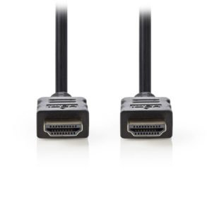 NEDIS CVGT34000BK100 High Speed HDMI Cable with Ethernet HDMI Connector - HDMI C | ΚΑΛΩΔΙΑ / ADAPTORS | elabstore.gr