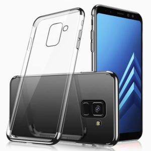 POWERTECH Θήκη Ultra Slim για Samsung A8 2018, διάφανη | Αξεσουάρ κινητών | elabstore.gr