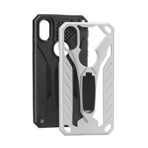 POWERTECH θήκη Hybrid Endurance για Apple iPhone 8 Plus, ασημί | Αξεσουάρ κινητών | elabstore.gr