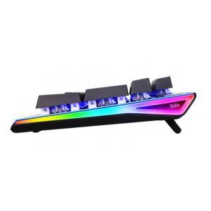 SADES Ενσύρματο πληκτρολόγιο K13 Sickle, μηχανικό, RGB Side, Red switch | Συνοδευτικά PC | elabstore.gr