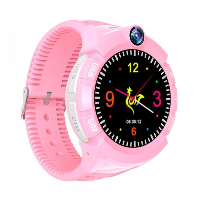 GPS Παιδικό ρολόι χειρός SD-S02-PK, SOS-Βηματομετρητής, ροζ | GPS | elabstore.gr