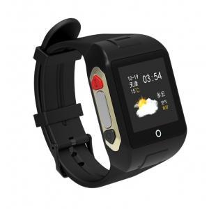 GPS Ρολόι χειρός SD-SW802 για ηλικιωμένους, SOS, μέτρητής παλμών, μαύρο | GPS | elabstore.gr