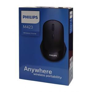 PHILIPS ασύρματο ποντίκι SPK7423, 2000DPI, 4 πλήκτρα, μαύρο | Συνοδευτικά PC | elabstore.gr