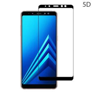 POWERTECH Tempered Glass 5D Full Glue για Samsung A8 Plus 2018, Black | Αξεσουάρ κινητών | elabstore.gr