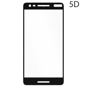 POWERTECH Tempered Glass 5D Full Glue για Nokia 2,1, Black | Αξεσουάρ κινητών | elabstore.gr