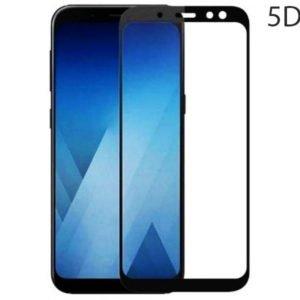 POWERTECH Tempered Glass 5D Full Glue για Samsung A6 Plus 2018, Black | Αξεσουάρ κινητών | elabstore.gr