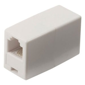 NEDIS TCGP90920WT Telecom Coupler RJ11 Female-RJ11 Female White | ΚΑΛΩΔΙΑ / ADAPTORS | elabstore.gr