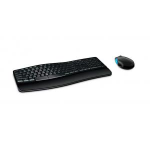 MICROSOFT set ποντίκι & πληκτρολόγιο L3V-00015, ασύρματα, ανατομικά | Συνοδευτικά PC | elabstore.gr