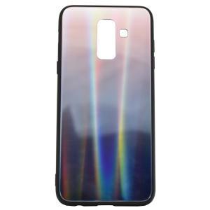 POWERTECH Θήκη Aurora Glass για Samsung A6 Plus 2018, καφέ-μαύρη | Αξεσουάρ κινητών | elabstore.gr