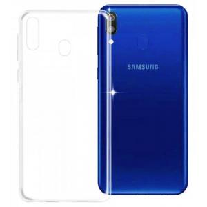 POWERTECH Θήκη Ultra Slim για SAMSUNG Galaxy M20, διάφανη | Αξεσουάρ κινητών | elabstore.gr