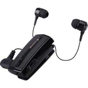 Retractable BT Headset w vibrator UA28 Black iXchange | MOBILE COMPONENTS | elabstore.gr
