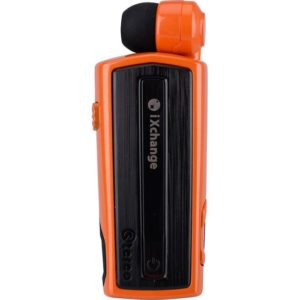 Retractable BT Headset w vibrator UA28 Orange iXchange | MOBILE COMPONENTS | elabstore.gr