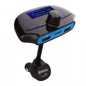 POWERTECH FM Transmitter με LCD οθόνη, USB, SD, Bluetooth, μαύρο | Εικόνα & Ήχος | elabstore.gr