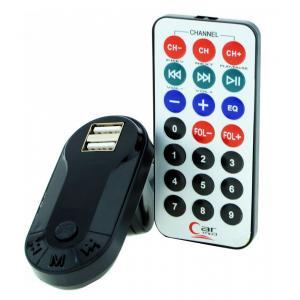Car FM Transmitter T26 με LCD οθόνη, USB, SD, μαύρο   Εικόνα & Ήχος   elabstore.gr