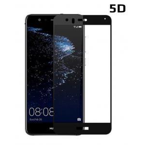 POWERTECH Tempered Glass 5D Full Glue για Huawei P10 Lite, μαύρο | Αξεσουάρ κινητών | elabstore.gr