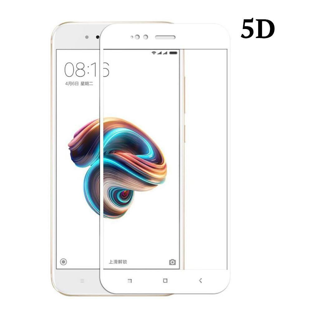 POWERTECH Tempered Glass 5D Full Glue για Xiaomi Mi A1 Qualcomm, λευκό | Αξεσουάρ κινητών | elabstore.gr