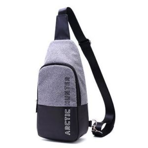 ARCTIC HUNTER τσάντα Crossbody XB0058-DG, αδιάβροχη, σκούρο γκρι | Οικιακές & Προσωπικές Συσκευές | elabstore.gr