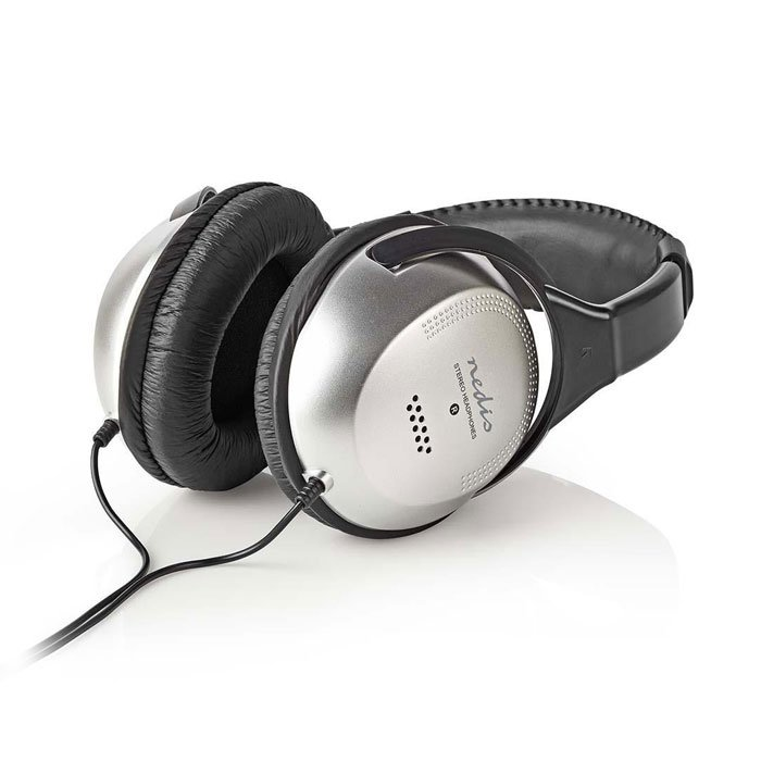 NEDIS HPWD1201BK Over-Ear Headphones | ΕΙΚΟΝΑ / ΗΧΟΣ | elabstore.gr