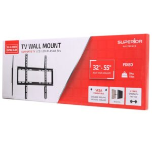 SUPERIOR 32-55 FIXED EXTRA SLIM TV WALL MOUNT | ΕΙΚΟΝΑ / ΗΧΟΣ | elabstore.gr