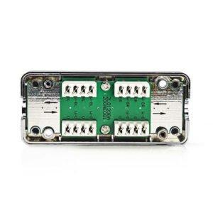 NEDIS CCGP89801ME Network Connection Box For U/FTP Network Cables - Metal | ΚΑΛΩΔΙΑ / ADAPTORS | elabstore.gr