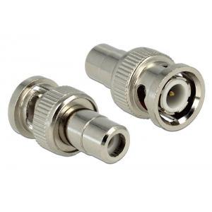 DELOCK Audio Αντάπτορας από Cinch plug σε BNC jack, 14.2mm | Κλειστό Κύκλωμα CCTV | elabstore.gr