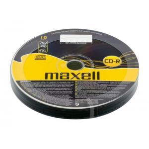 MAXELL CD-R 80min, 700MB, 52x, 10τμχ Cake box | Αναλώσιμα - Είδη Γραφείου | elabstore.gr