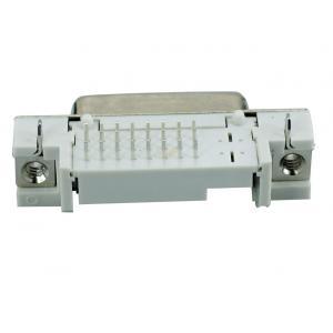 DVI Connector - DVI 25P, Nickel, White | Service | elabstore.gr