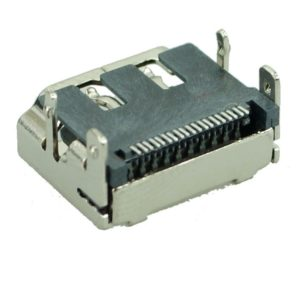 HDMI Connector C TYPE3, pins ίσια με κούμπωμα, Silver | Service | elabstore.gr