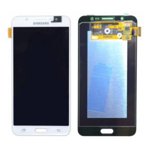 SAMSUNG Original LCD & Touch Panel για Galaxy J7 2016 J710F, White | Service | elabstore.gr