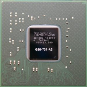 NVIDIA BGA IC Chip 8600M GS G86-731-A2,  with Balls   Service   elabstore.gr