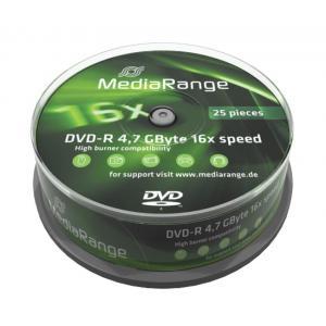 MEDIARANGE DVD-R 4,7 GB 16X Cake 25τμχ   Αναλώσιμα - Είδη Γραφείου   elabstore.gr