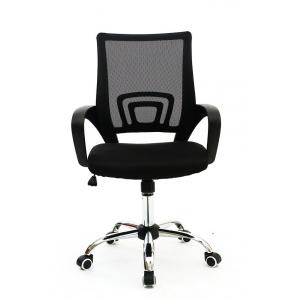 POWERTECH Καρέκλα γραφείου PT-726, ρυθμιζόμενη, με υποβραχιόνια, μαύρη | Αναλώσιμα - Είδη Γραφείου | elabstore.gr