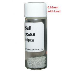 Solder Balls 0.35mm, with Lead, 25k | Service | elabstore.gr