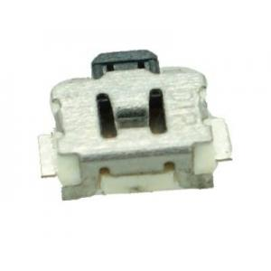 SIDE SMD Button - 2 PIN, Nickel, Silver/Black | Service | elabstore.gr