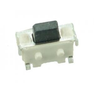 SMD Button - 2 PIN, Nickel, Silver/Black | Service | elabstore.gr