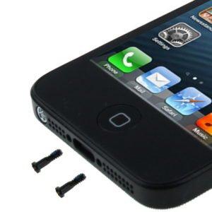 Κάτω βίδα επένδυσης για iPhone 5, μαύρο, τεμάχιο | Service | elabstore.gr
