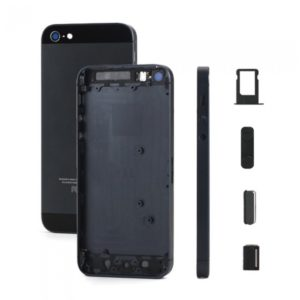 Κάλυμμα μπαταρίας για iPhone 5G, High Quality, Black | Service | elabstore.gr
