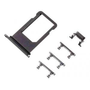 Υποδοχή κάρτας SIM και Side Button για iPhone 8 Plus, μαύρο | Service | elabstore.gr