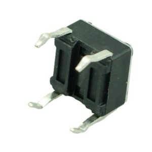 DIP SWITCH 4 PIN, Nickel Body, Plastic Button, Silver/Black | Service | elabstore.gr