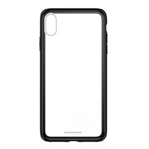 BASEUS θήκη See-through για iPhone XS WIAPIPH58-YS01, μαύρο | Αξεσουάρ κινητών | elabstore.gr