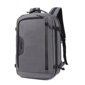 ARCTIC HUNTER τσάντα πλάτης B-00183-GY με θήκη laptop, αδιάβροχη, γκρι   Οικιακές & Προσωπικές Συσκευές   elabstore.gr