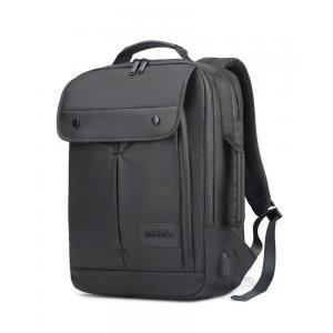 ARCTIC HUNTER τσάντα πλάτης B00325-BK με θήκη laptop, αδιάβροχη, μαύρη | Οικιακές & Προσωπικές Συσκευές | elabstore.gr