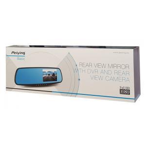 PEIYING καθρέφτης με Full HD οθόνη και κάμερα στάθμευσης PY0106 | Gadgets | elabstore.gr
