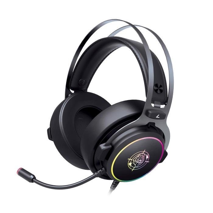 Headphone Zeroground RGB USB 7.1 HD-2900G HATANO v2.0 | HEADPHONES | elabstore.gr