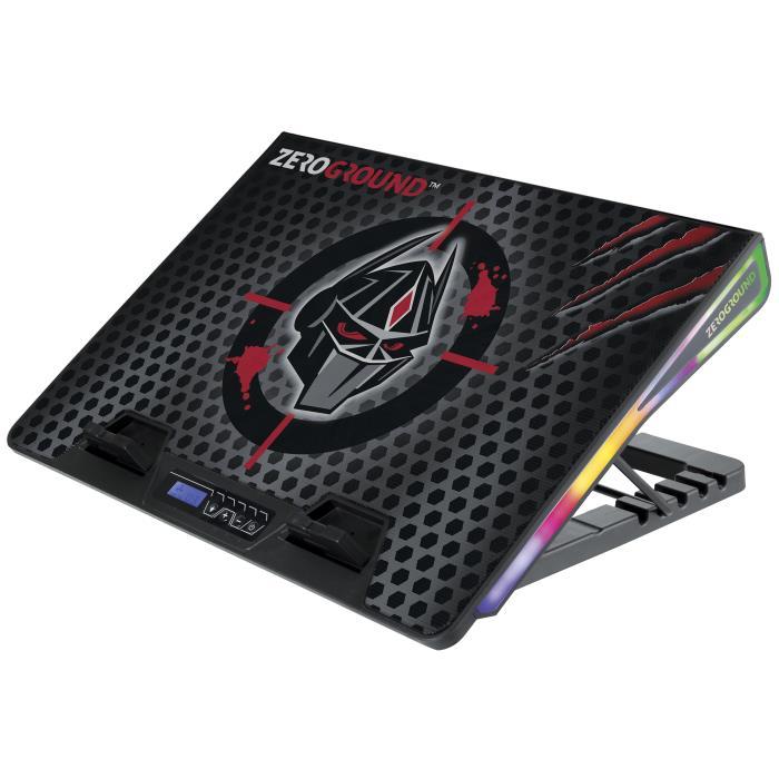 Notebook Cooler Zeroground RGB NTC-1200G SAKAI v2.0 | NOTEBOOK COOLERS | elabstore.gr