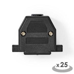 NEDIS CCVC52895ME D-Sub Connector Housing 25 pieces Metal | ΚΑΛΩΔΙΑ / ADAPTORS | elabstore.gr