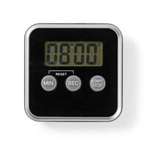 NEDIS KATR102BK Kitchen Timer Digital Display Black   ΜΙΚΡΟΣΥΣΚΕΥΕΣ / ΕΠΟΧΙΑΚΑ / ΛΕΥΚΕΣ ΣΥΣΚΕΥΕΣ   elabstore.gr
