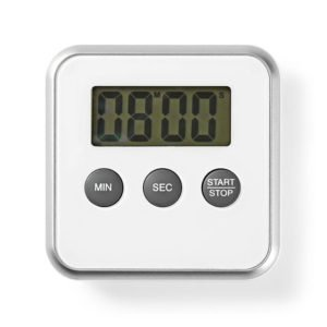 NEDIS KATR102WT Kitchen Timer Digital Display White | ΜΙΚΡΟΣΥΣΚΕΥΕΣ / ΕΠΟΧΙΑΚΑ / ΛΕΥΚΕΣ ΣΥΣΚΕΥΕΣ | elabstore.gr